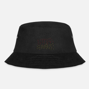 Black Red Gold black red Gold - Bucket Hat