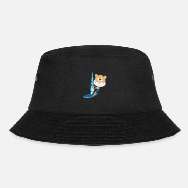 Hamsters Hamster - Windsurfer - Water Sports - Animal - Children - Bucket Hat