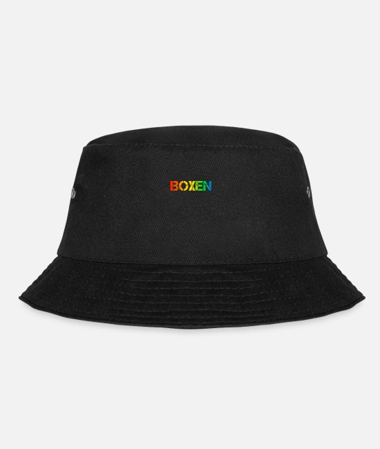 Fighter Caps & Hats - boxer - Bucket Hat black