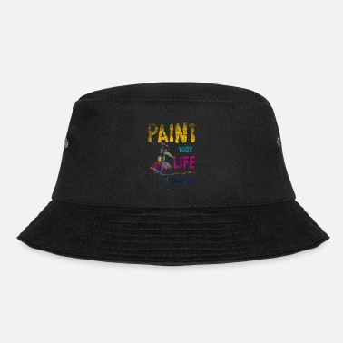 Painted Paint painting - Bucket Hat