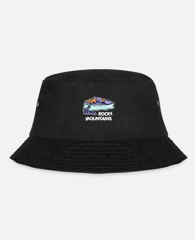 Ski Caps & Hats - Rocky Mountains - Bucket Hat black
