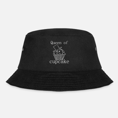 Line Queen of Cupcake / Muffin / Sayings / Trend - Bucket Hat
