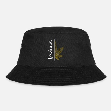 Chill Weed / cannabis / cannabis leaf / hemp / smoking - Bucket Hat