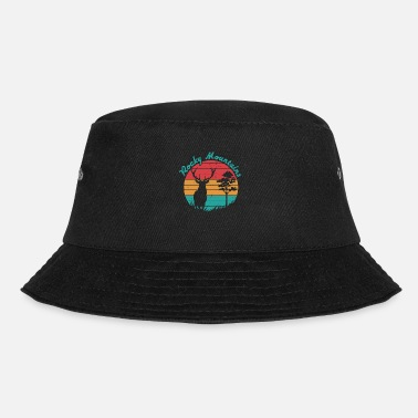Rocky Mountains Rocky Mountains Wild Vintage - Bucket Hat