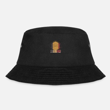 National Belgium national colors nation - Bucket Hat