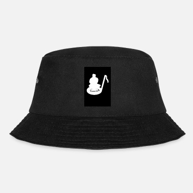 Singer Harmonica Music Note Blues Harp Player Country - Bucket Hat