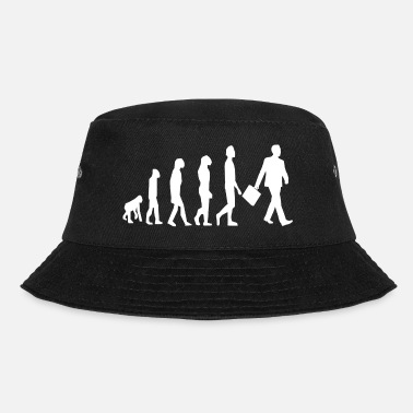500 Evolution banker / lawyer / consultant / boss - Bucket Hat