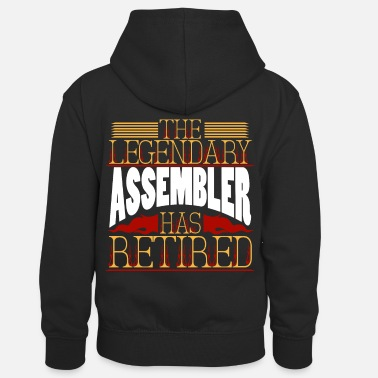Assembly assembler - Kids' Contrast Hoodie