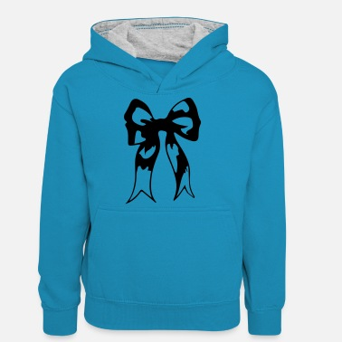 Ribbons ribbon - Teenager Contrast Hoodie