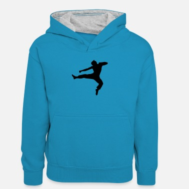 Fighter fighter - Teenager contrast-hoodie