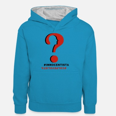 What do you think - Teenager Contrast Hoodie