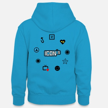 Icon icons - Teenager Contrast Hoodie