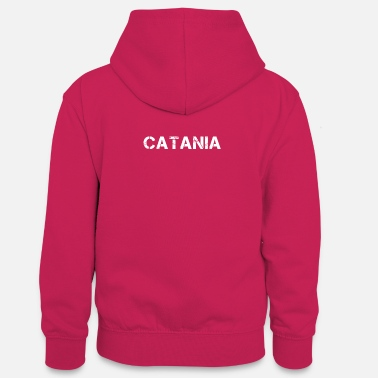 Catania City Catania , Italy - Teenager Contrast Hoodie