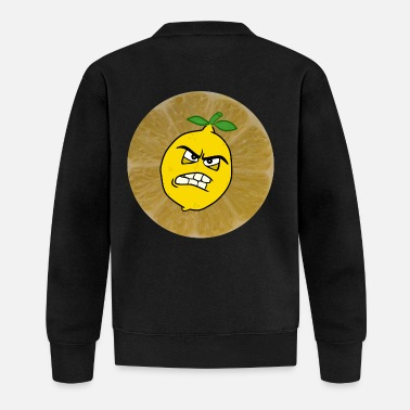 Sour sour lemon is sour - Baseball Jacket