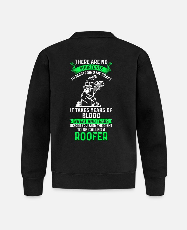 Happy Birthday Jackets - Dachdecker - Roofer - Geschenk - Baseball Jacket black