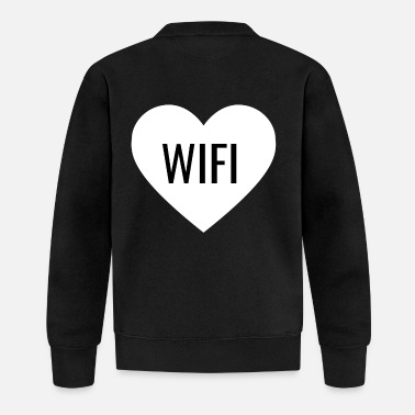 Wifi WIFI - Baseball Jacket