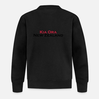 Kia Ora New Zealand - Baseball Jacke