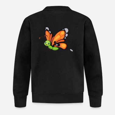 Giraffe Schmetterling Butterfly Zoo Safari - Baseball Jacke