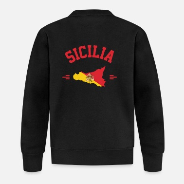 Sicily in your heart - Baseball Jacket
