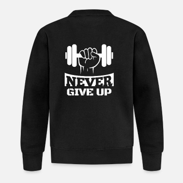Up Never Give Up Fitness - Baseball-takki