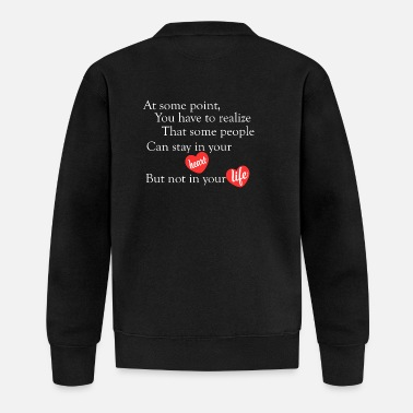 Beautiful beautiful love quotes - Baseball Jacket