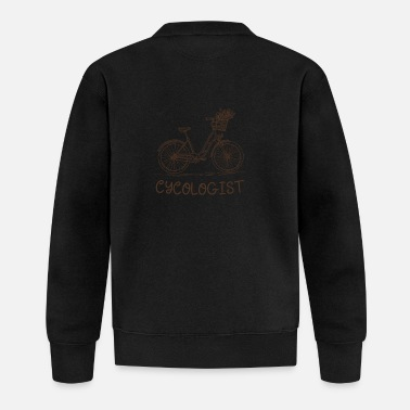 Bicycle Cycling gift idea - Cycologist - Baseball Jacket