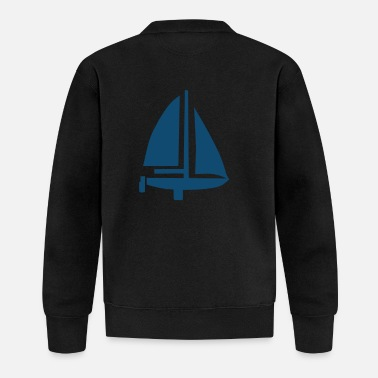 Sail Boat Sailing Boat - Baseball Jacket