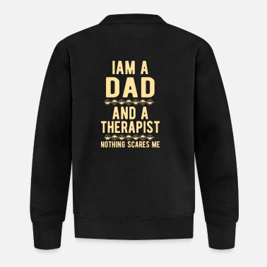 Suicidal Counselor Therapist Dad Therapist: Iam a Dad and a Therapist - Baseball Jacket