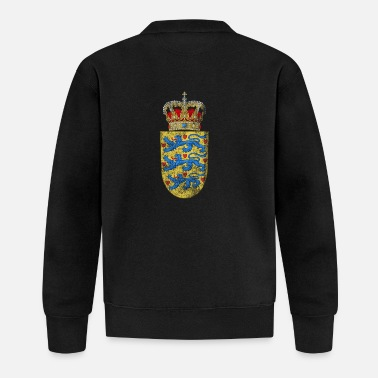 Symbol Danish Coat of Arms Denmark Symbol - Baseball Jacket