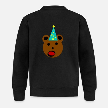 Party bear - Baseball Jacket