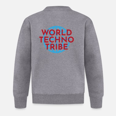 Konzert World techno tribe Geschenk Musik Raving Konzert - Baseball Jacke