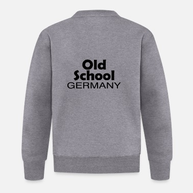 Federal Republic Of Germany Old School Germany origin home gift - Baseball Jacket