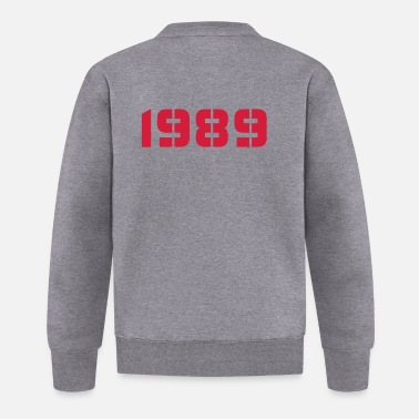 Birth Year Born In - Made in 1989 - Baseball Jacket