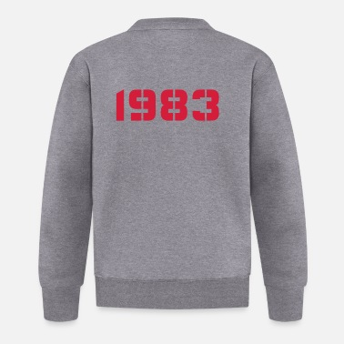 Birth Year Born In - Made in 1983 - Baseball Jacket