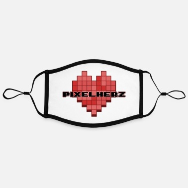 Pixel Heart Pixel heart - Contrast mask, adjustable (large)