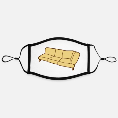 Clip Sofa Clipart Design - Contrast mask, adjustable (large)