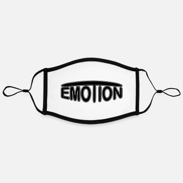 Emotion emoTion - black - Kontrastmaske, einstellbar (Large)