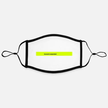 Suspenders Account Suspended - Contrast mask, adjustable (large)
