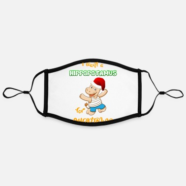Merry Merry Christmas Merry Christmas Merry Christmas - Contrast mask, adjustable (large)