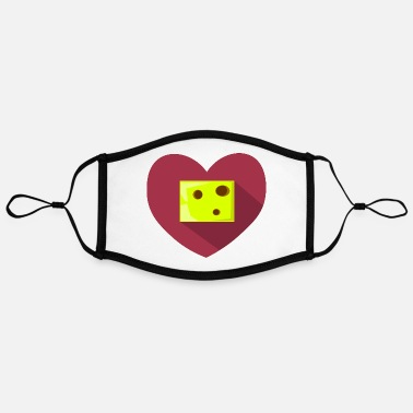 Heartache Heart // Heartbreaker // Love // Heartache - Contrast mask, adjustable (large)