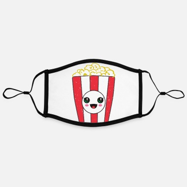 Hawaii Kawaii Popcorn Movie - Kontrastmaske, einstellbar (Large)