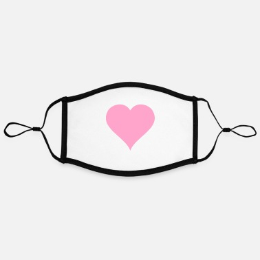 Pink Heart Pink heart - Contrast mask, adjustable (large)