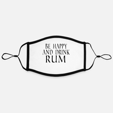 Rum Drink Drink Rum - Contrast mask, adjustable (large)