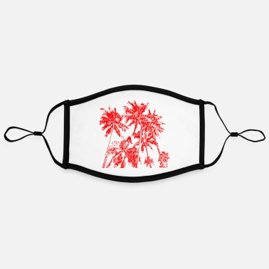 Easy Palm trees - Contrast mask, adjustable (large)