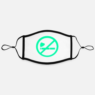 Non Smoker Non-smokers - Contrast mask, adjustable (large)