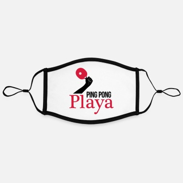 Ping Pong Player ping pong player - Contrast mask, adjustable (large)