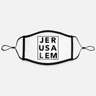 Jerusalem Jerusalem - Contrast mask, adjustable (large)