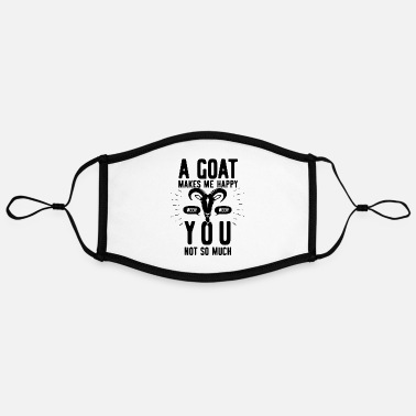 Goat Goat goat - Contrast mask, adjustable (large)