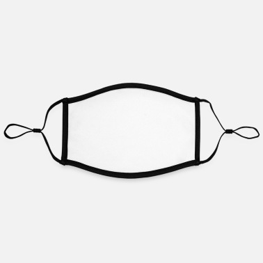 Grey Not A Single One Of My Multiple Personalities - Contrast mask, adjustable (large)