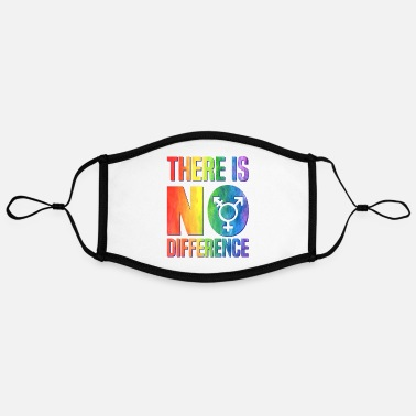 Sex Love makes no difference, Pride - Contrast mask, adjustable (large)